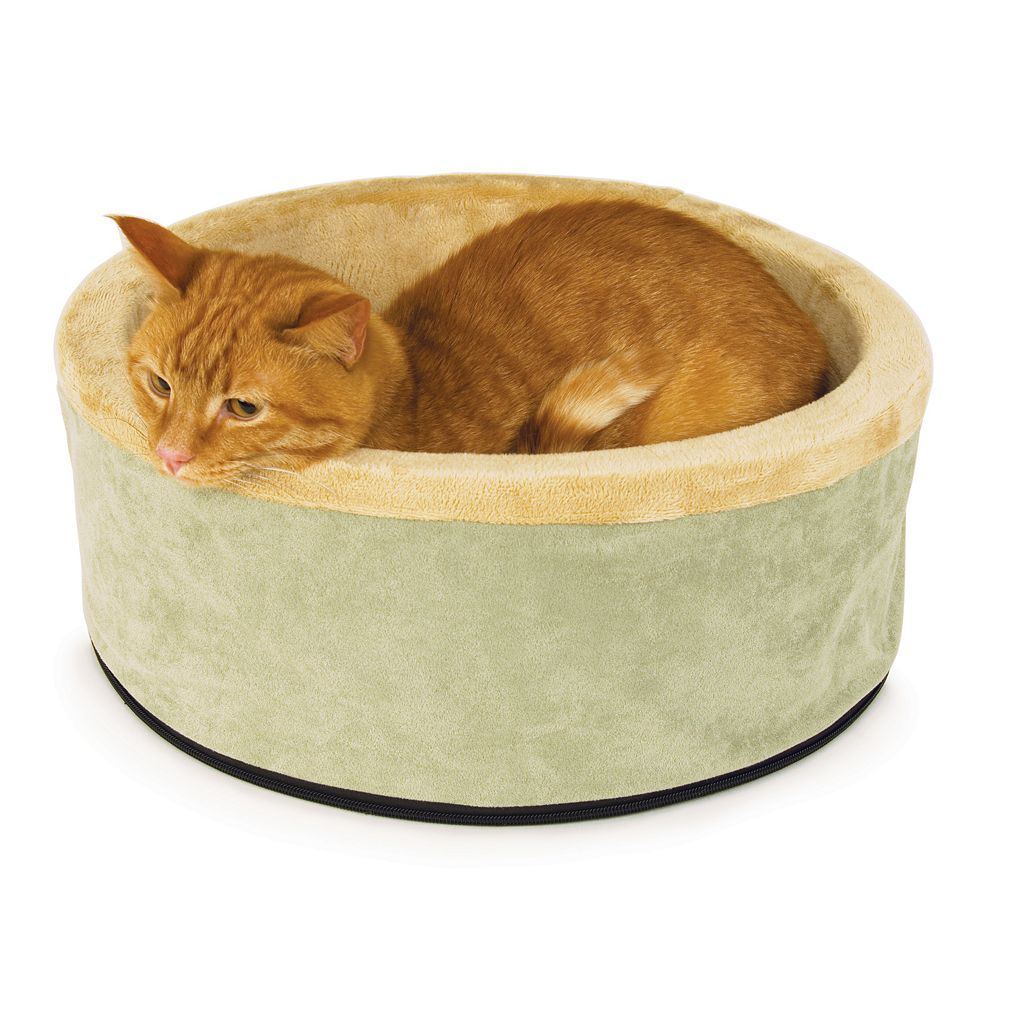 K&H Pet Thermo-Bed Round Pet Bed - 16''
