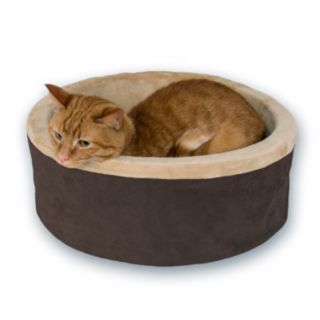 K and H Pet Thermo-Kitty Round Pet Bed - 20''