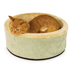 K&H Pet Thermo-Kitty Round Pet Bed - 20'