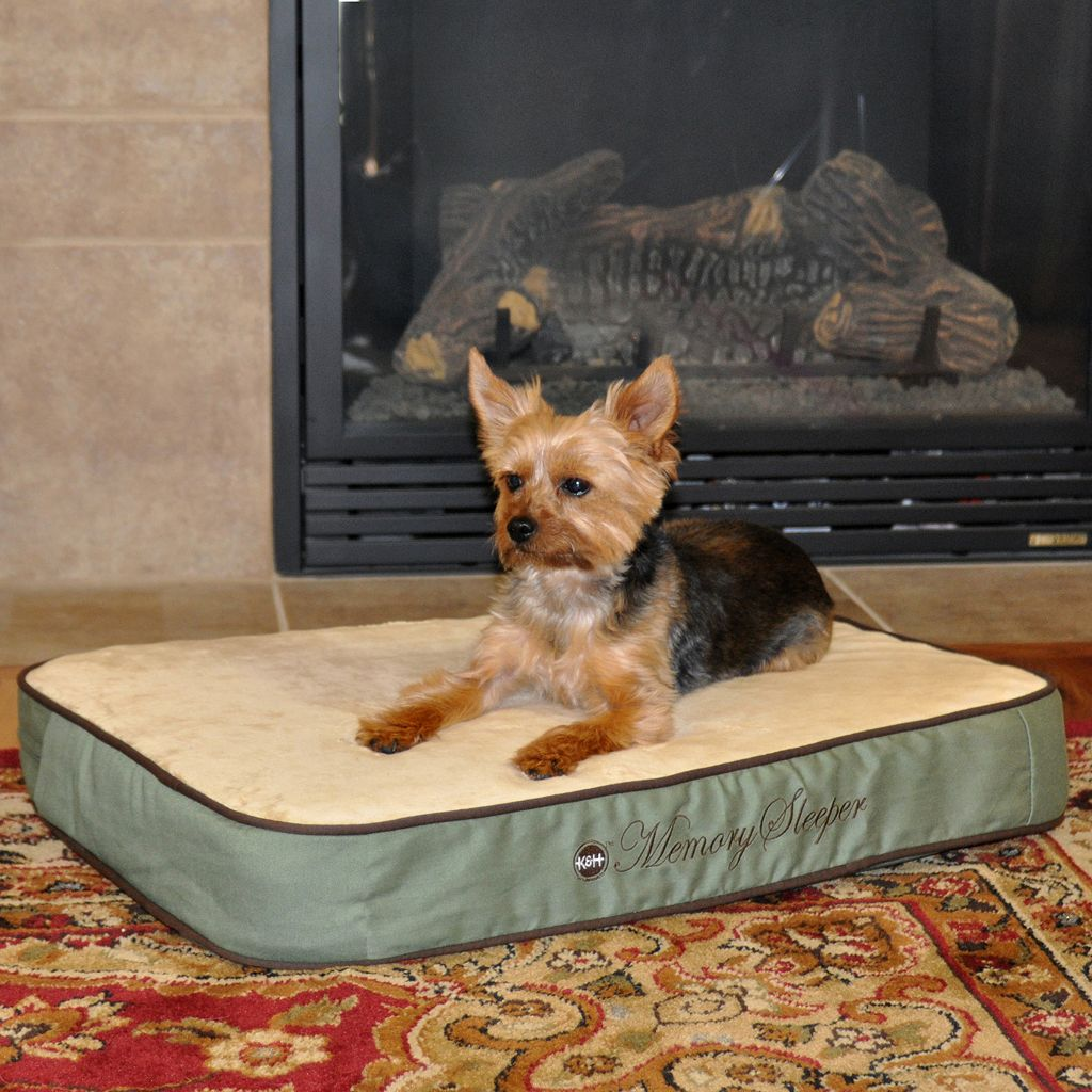 K&H Pet Memory Sleeper Rectangle Pet Bed - 26