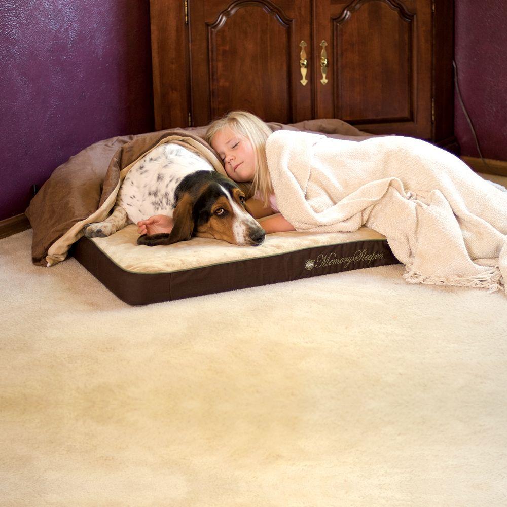 "K&H Pet Memory Sleeper Rectangle Pet Bed - 35"" x 23"""