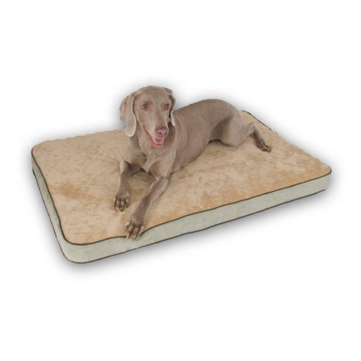 K and H Pet Memory Sleeper Rectangle Pet Bed - 45'' x 29''