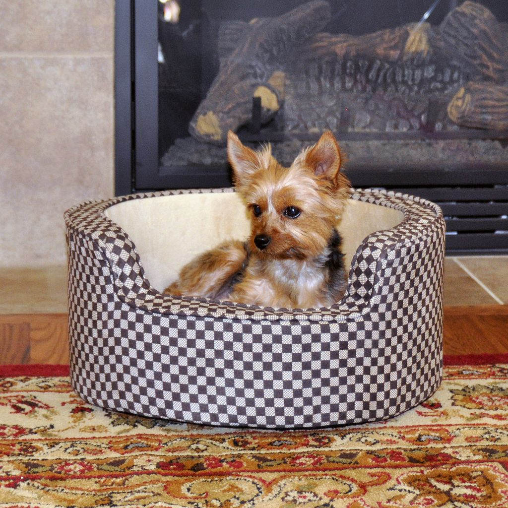 K&H Pet Comfy Sleeper Self-Warming Round Pet Bed - 18''