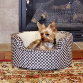 K and H Pet Comfy Sleeper Self-Warming Round Pet Bed - 18''