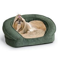 K&H Pet Deluxe Ortho Sleeper Oval Pet Bed - 30' x 25'