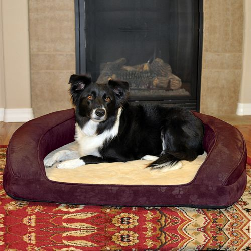 """K&H Pet Deluxe Ortho Sleeper Oval Pet Bed - 40"""" x 33"""""""