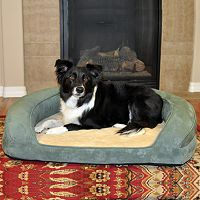 K&H Pet Deluxe Ortho Sleeper Oval Pet Bed - 40