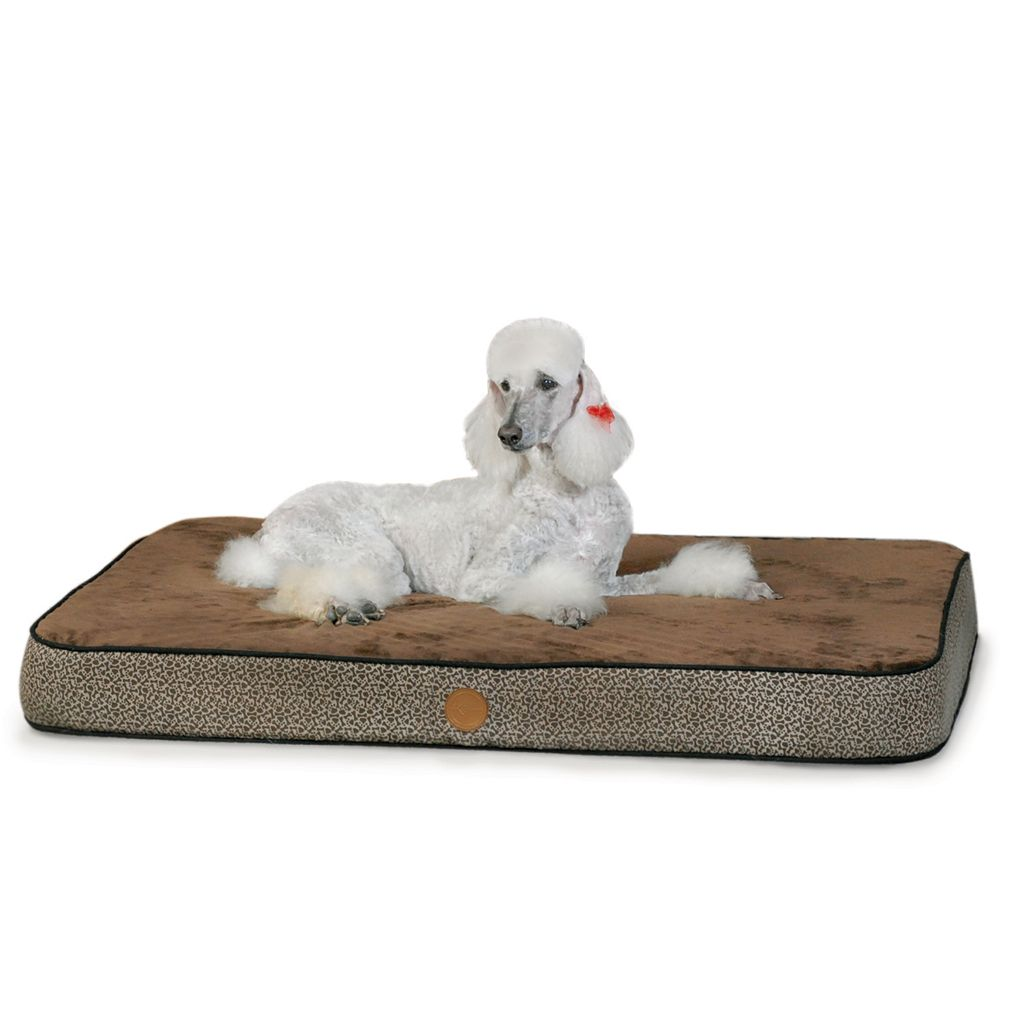K and H Pet Superior Orthopedic Rectangle Pet Bed - 50'' x 40''
