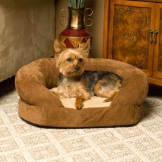 K and H Pet Ortho Sleeper Oval Pet Bed - 30'' x 25''