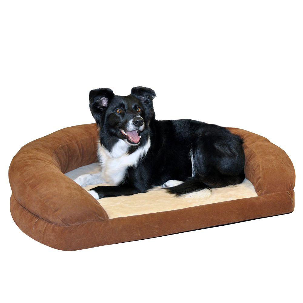 "K&H Pet Ortho Sleeper Oval Pet Bed - 50"" x 40"""