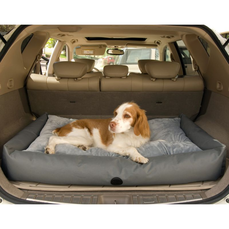K and H Pet SUV Travel Bed - Small, Grey