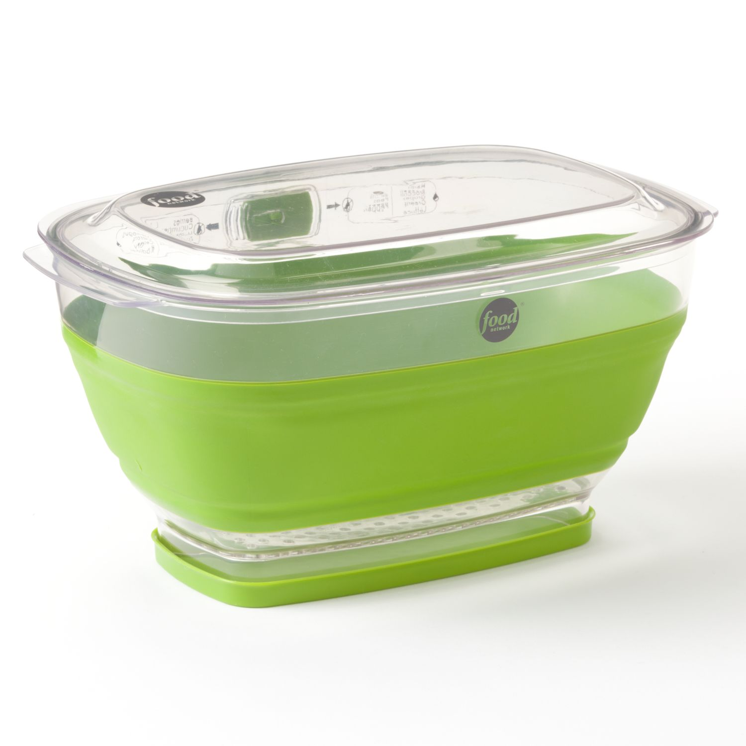 Food Network? Collapsible Produce Keeper  sc 1 st  Kohlu0027s & Food Network™ Collapsible Produce Keeper | Kohls