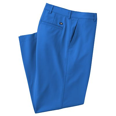 Haggar C18 Sport Pant Straight-Fit No-Iron Flat-Front Performance Pants