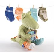 Baby Aspen Croc in Socks Plush Toy and Socks Gift Set - Baby
