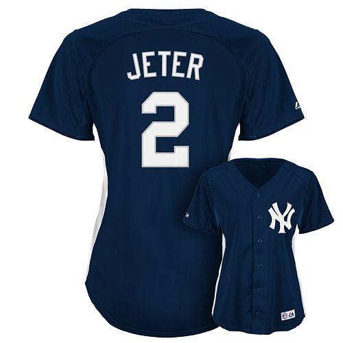 wholesale dealer c57e5 4148b Majestic New York Yankees Derek Jeter Batting Practice Jersey