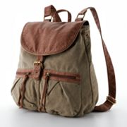 Mudd Shelly Canvas Backpack