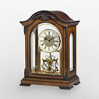 Bulova Durant Wood Mantel Clock - B1845