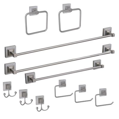 Elegant Home Fashions Greek Key 11-pc. Bath Hardware Set