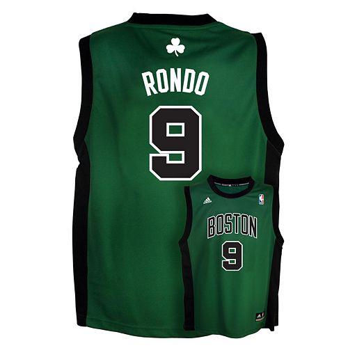 separation shoes 624a5 47c0a adidas Boston Celtics Rajon Rondo Alternate NBA Jersey ...