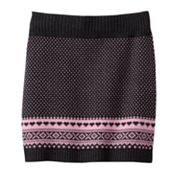 It's Our Time Fairisle Sweater Skirt - Girls 7-16