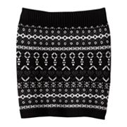 It's Our Time Jacquard Sweater Skirt - Girls 7-16