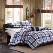 MiZone Alton Plaid Comforter Set - Full/Queen