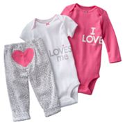 Carter's Love Turn Me Around Bodysuit Set - Baby