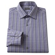 Arrow Slim-Fit Patterned Non-Iron Spread-Collar Dress Shirt