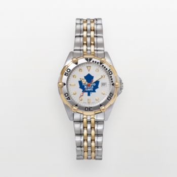 Toronto Maple Leafs Stainless Steel Two Tone Watch MLE103 Men