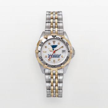St. Louis Blues Stainless Steel Two Tone Watch BLE104 Women