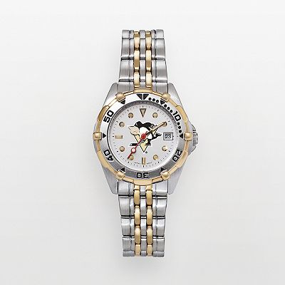 Pittsburgh Penguins Stainless Steel Two Tone Watch - PEN104 - Women