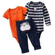 Carter's Dog Turn Me Around Bodysuit Set - Baby