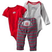 Carter's Football Turn Me Around Bodysuit Set - Baby