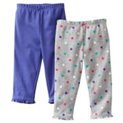 Carter's 2-pk. Dotted and Solid Pants - Baby