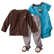Carter's Solid Cardigan Set - Baby