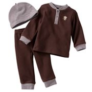 Carter's Monkey Thermal Top and Pants Set - Baby