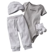 Carter's Little Brother Bodysuit and Striped Pants Set - Baby
