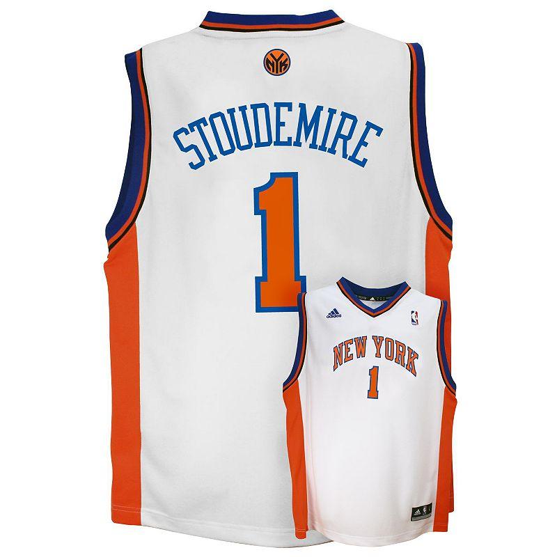 adidas New York Knicks Amare Stoudemire White NBA Jersey - Boys 8-20
