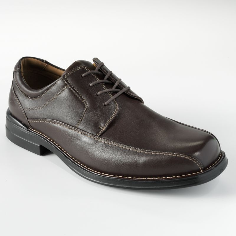 brown cushioned dress shoes kohl s