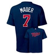 Majestic Minnesota Twins Joe Mauer Tee - Big and Tall