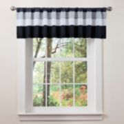 Lush Decor Iman Window Valance - 18'' x 84''