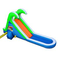 Blast Zone Tropical Splash Inflatable Water Slide