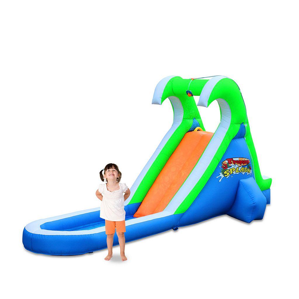 Blast Zone Tropical Splash Inflatable Water Slide