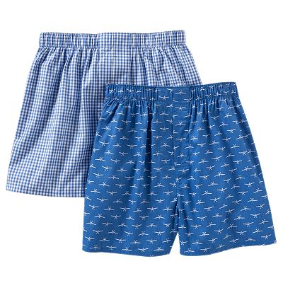 Croft and Barrow 2-pk. Airplane Woven Boxers