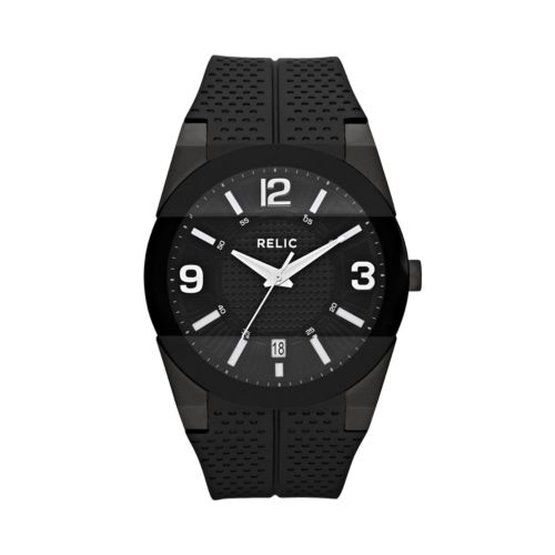Relic Jake Stainless Steel Black Ion Watch - ZR11972