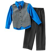 Arrow Glen Plaid Vest Set - Boys 4-7