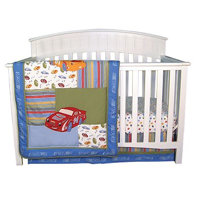 NASCAR 3-pc. Crib Bedding Set by Trend Lab