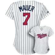 Majestic Minnesota Twins Joe Mauer Jersey - Women's