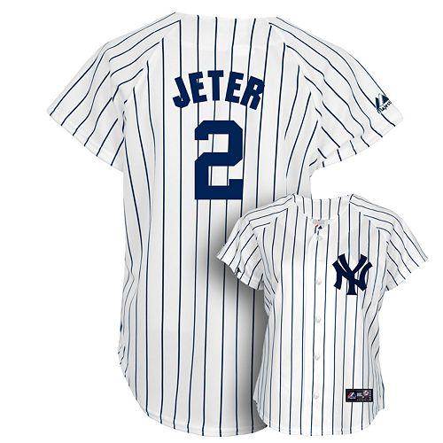 online retailer f8191 4f2ad Majestic New York Yankees Derek Jeter Jersey - Women's