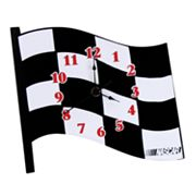 NASCAR Wall Clock by Trend Lab